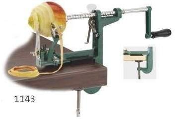 Maszynka do obierania jabłek z mocowaniem do stołu