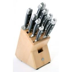 Blok noży Guede Alpha 9 częściowy
